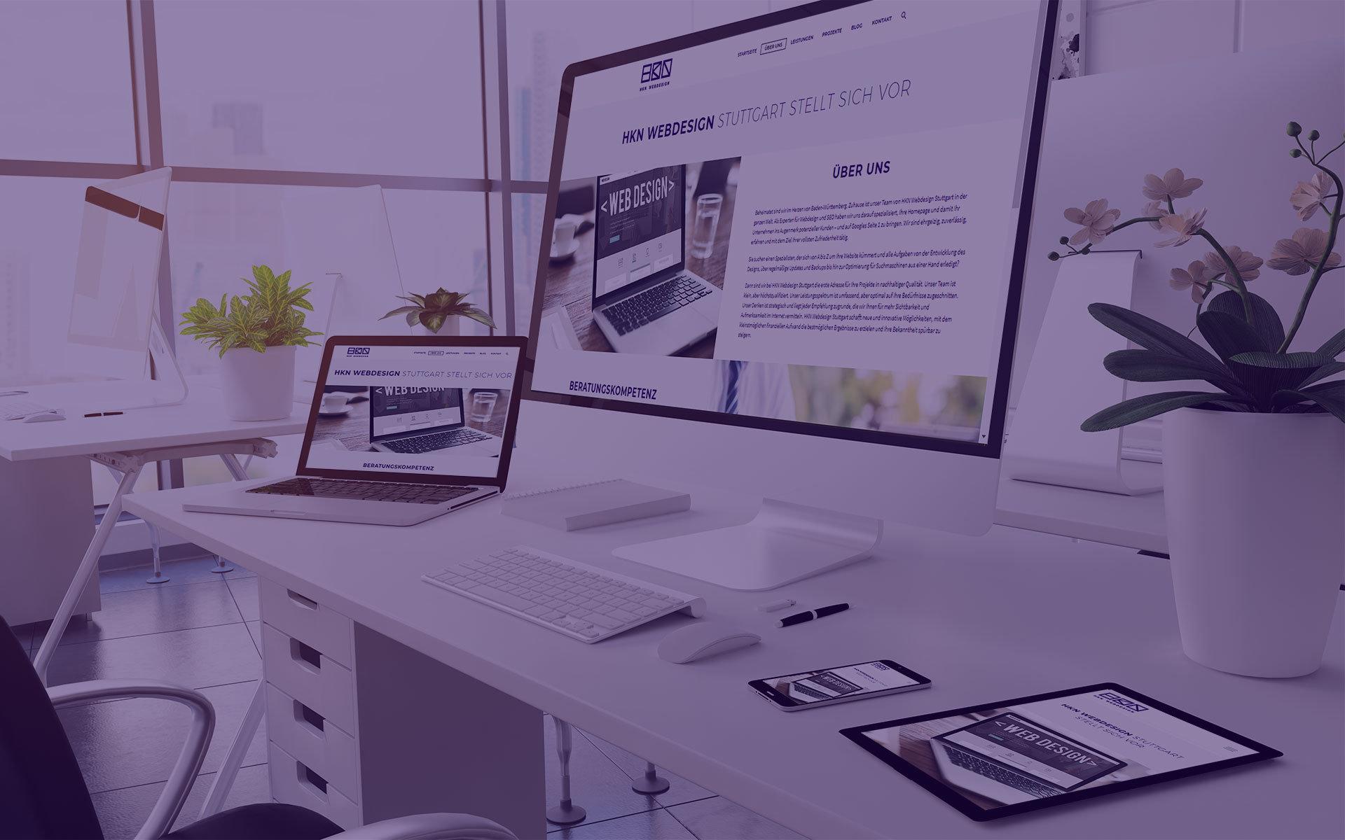 HKN Webdesign Stuttgart Kontakt