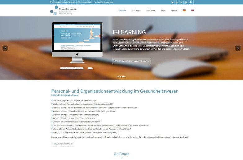 cornelia-walter.de Homepage
