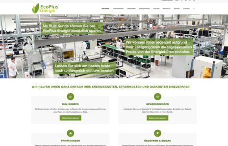 Webseite von EcoPlus-Energie.de
